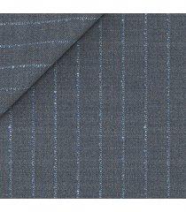 pantaloni da uomo su misura, lanificio ermenegildo zegna, rigato mouliné, quattro stagioni