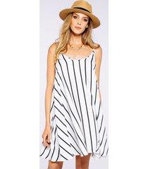 sukienka vibe stripes white