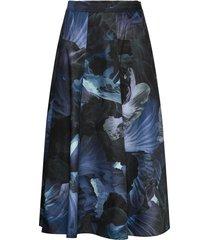 istinto knälång kjol blå max&co.