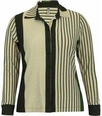 blusa pau a pique camisete listrado feminina - feminino