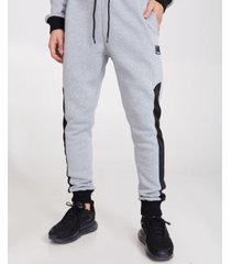 bench urbanwear cuffed joggers with contrast panels