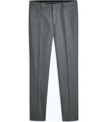 mens grey gray super skinny fit suit pants