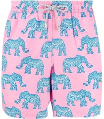 bluemint arthus swim shorts - pink