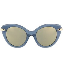 52mm rounded cat eye sunglasses