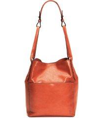 frye reed hobo bag - orange