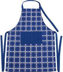 avental de cozinha le new grid colorido