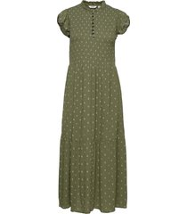 byfelice dress - maxiklänning festklänning grön b.young