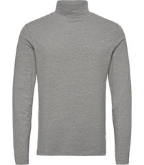 turtle neck tee l/s t-shirts long-sleeved grå lindbergh