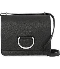 d-ring leather shoulder bag