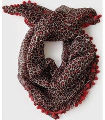 pañuelo animal print coral spiga 31