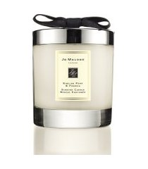 vela perfumada english pear & freesia home candle 200g - bege