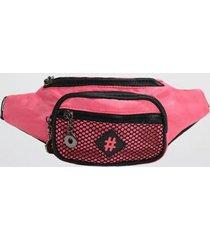 pochete back bag nylon let's go feminina