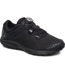 apex ii gtx w shoes sport shoes running shoes svart viking
