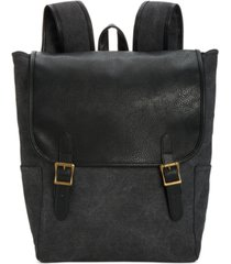 px men's flap-top canvas backpack