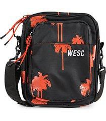 mini palm tree-print shoulder bag