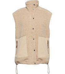 siad vest vests knitted vests bruin iben