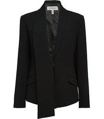 telma asymmetrical jacket