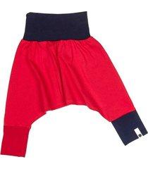 spodnie mini mini - czerwony + granat