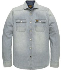 long sleeve shirt stripe denim