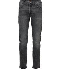 daren zip fly slim jeans zwart lee jeans