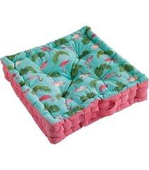 poduszka siedzisko na podłogę flamingo 45x45 cm