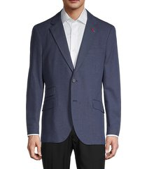 pin dot standard-fit suit jacket