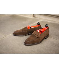 handmade men brown leather shoes, men dress formal shoes, suede leather shoes