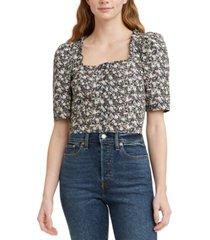 levi's joella cotton blouse