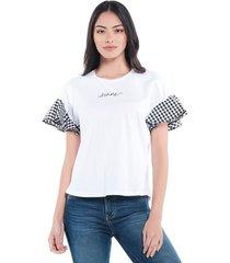 camiseta boleros custom blanca