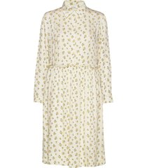 dana dress jurk knielengte crème nué notes