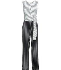 tuta con cintura (nero) - bodyflirt boutique