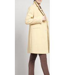 abrigo mujer muflon beige elemental liola