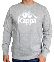 sueter kappa authentic eslogari - gris