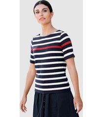 shirt alba moda marine::wit::rood