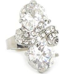 maxi bijoulux anel com pedras - tricae