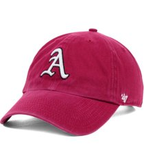'47 brand arkansas razorbacks ncaa clean-up cap