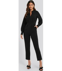 na-kd jumpsuit - black