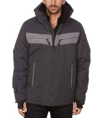 avalanche men's hooded ski jacket