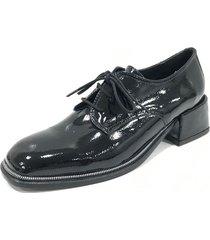 botineta negra antoinette calzados  aleja