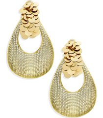 zaxie by stefanie taylor gift of glam sequin hoop earrings