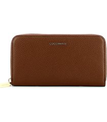 coccinelle womens brown wallet