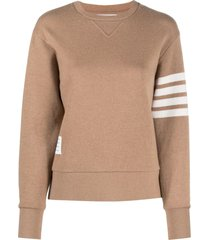 relaxed fit crewneck pullover, camel