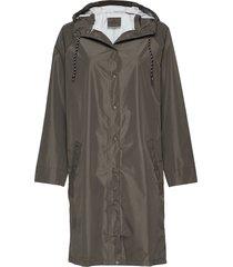 solid magpie raincoat outerwear rainwear rain coats grön becksöndergaard