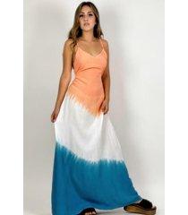 vestido maxi vestido tie dye enigmática boutique