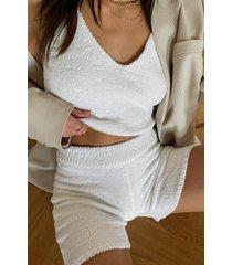 na-kd trend shorts - white