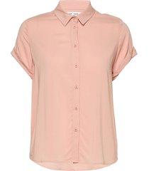 majan ss shirt 9942 blouses short-sleeved roze samsøe samsøe