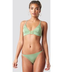 trendyol basic bikini bottom - green