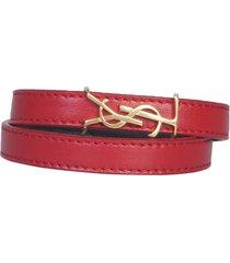 saint laurent double round opyum bracelet