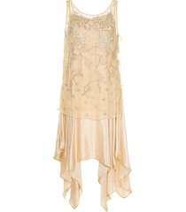 muller of yoshiokubo gatsby dress - neutrals
