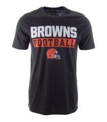 '47 brand cleveland browns men's backdraft super rival t-shirt